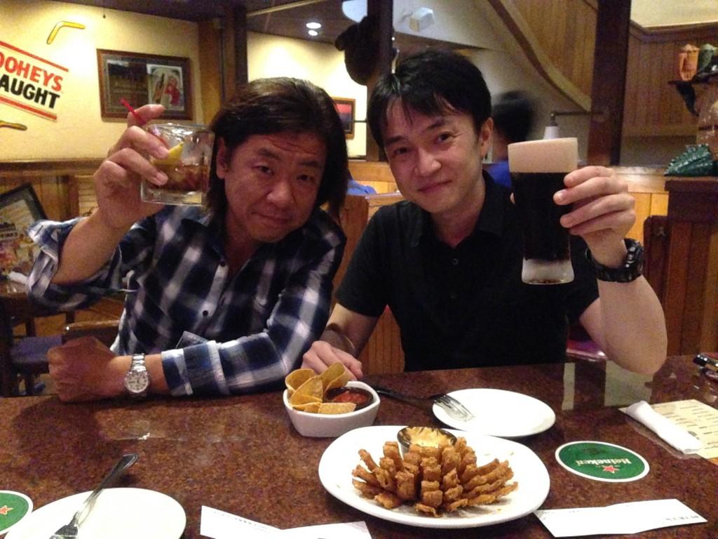 高橋先生と品川アウトバック